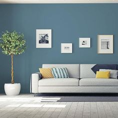 PPG Paints Color of the Year 2020 is Chinese Porcelain blue! This beautiful blue paint color works in a living room, bedroom, kitchen, bedroom, bathroom. Teal Paint Colors, Kitchen Paint Colors, Bedroom Paint Colors, Interior Paint Colors, Neutral Paint, Paint Visualizer, Sico, Interior Design Minimalist, Ppg Paint