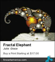 Fractal elephant.