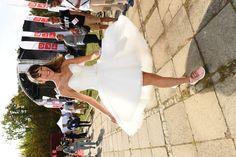 Bieg w sukniach ślubnych. Mamy zdjęcia! - Dorota Czaja