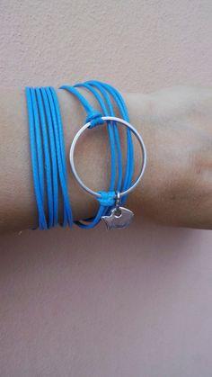Karma bracelet. Circle bracelet. Karma by AllAboutEveCreations