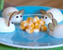 Egg Mice: A fun after-school snack for kids of all ages. | How Do It Info