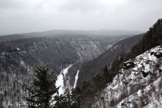 Wellsboro, Pa Grand Canyon in the winter
