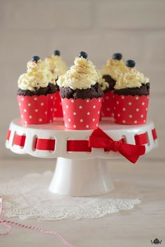 Chocolate Mascarpone Cupcakes