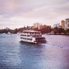 Cruise, wine & dine with the best Brisbane Cruises on the river. Offering amazing views, entertainment, restaurant style dining on the Kookaburra Queens. River Queen, Brisbane River, Cruise Offers, High Tea, Cruises, Paddle, Great Recipes, Queens, Boat