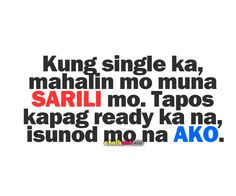 pinoy pick up lines – kung single ka