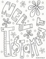 Some New Testament & Old Testament coloring pages word zentangle doodle journal kids bible pages #childrensministry