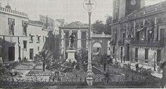 Auténtica Casa de Cisneros, 12 de octubre de 1905 antes de su reforma. Foto Alonso para Nuevo Mundo.