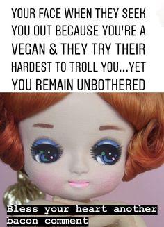 Vegetarian Memes, Vegan Memes, Vegan Quotes, Vegan Humor, Vegan Vegetarian, Why Vegan, Hate People, Stop Eating, Veganism