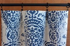 S a l e Window Treatment Curtains Drapery Panel by CanvasCarnival