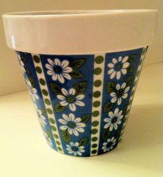 Hey nono I may wanna start painting flower pots how cute huh