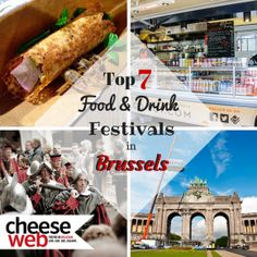 While Brussels, Belgium has great food to choose from year round, we're sure to mark our calendars when these 7 food and drink festivals take place each year.