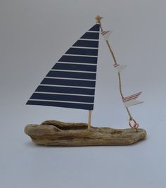 Driftwood sailboat from upcycle art creations.  Find me on Facebook