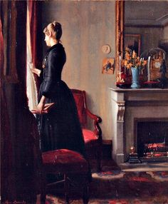 Marie Krøyer in Paris by Michael Peter Ancher, 1889.