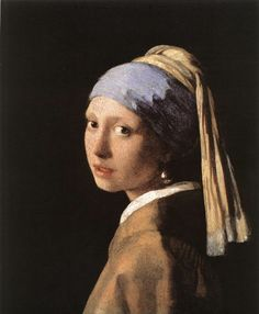 The painting Girl with a Pearl Earring is one of Dutch painter Johannes Vermeer's masterworks and as the name implies, uses a pearl earring for a focal point.