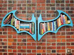 L'étagère de Batman par Fahmi Sani