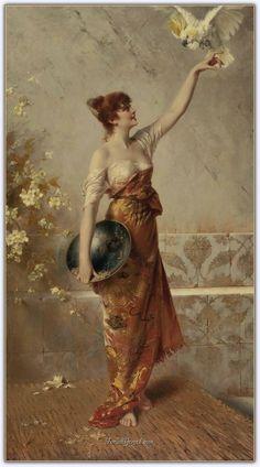 Conrad Kiesel (1846 - 1921) | Alman Ressam - Forum Gerçek