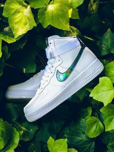 Nike Air Force 1 High White Gold
