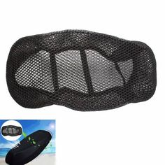 3D Motorcycle Scooter Seat Cover Net Breathable Protector Black  Worldwide delivery. Original best quality product for 70% of it's real price. Buying this product is extra profitable, because we have good production source. 1 day products dispatch from warehouse. Fast & reliable...