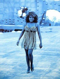 Tina Turner in Azzedine Alaia by Peter Lindbergh 1989
