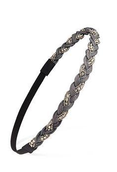 Bead and Crochet Headband | Forever 21 - 1000184480