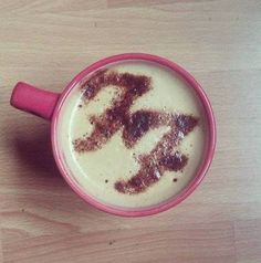 I need my coffee to look like this every day! Hell Yes!