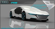 So very very cool! Audi A9 #11 Concept