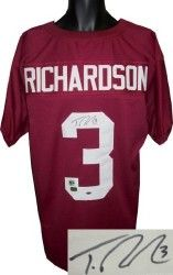 ... Trent Richardson signed Alabama Crimson Tide Maroon Custom Jersey-  Richardson Hologram Florida State Seminoles 5 Jameis Winston 2014 Red  Limited Kids ... 5109e0109