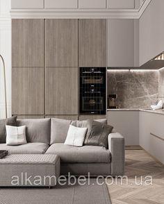 Kitchen Room Design, Modern Kitchen Design, Home Decor Kitchen, Interior Design Kitchen, Kitchen Ideas, Kitchen Wood, Kitchen Units, Modern Design, Room Kitchen