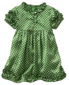 My Cute Little Wardrobe: BabyGap Dress (Polka Dot)