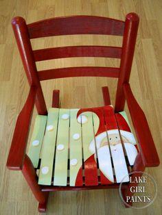 DIY:: ADORABLE....Little Santa Rocker !!