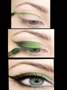 tinkerbell eyes... COLOR GUARD!!!!
