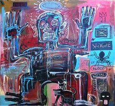 Jean-Michel Basquiat: Sangre