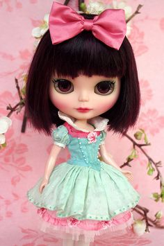For Chrissy ≈ Snow White ≈ | Blythe clothes for dolls : tutorial : Kikihalb ♧ Forest~Tales ♧
