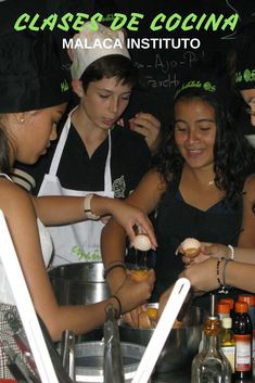 Spanish plus Cookery in Malaga - Spain Spanish Courses, Malaga Spain, Grande, Improve Yourself, Learning, School, People, Life, Group