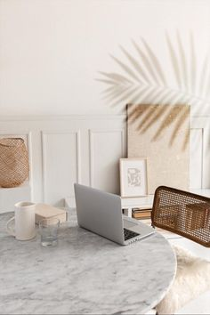 Boho Living Room, Home Living, Living Room Decor, Room Ideas Bedroom, Bedroom Decor, Home Decoracion, Home Office Decor, Office Setup, Office Organization