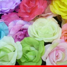 many colours