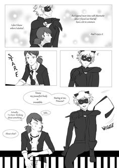 Purrrove it! Marichat part 1 (please read the pictures right to left!)