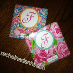 My favorite brand i made into coasters for Kaitlin. Future Mrs. Farrar !