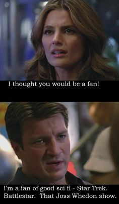 When Castle mentioned Firefly