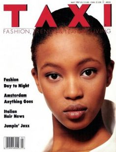 Naomi Campbell - William Garrett - Taxi - 1987 (Cover + 7 eds) Naomi Campbell Joven, Naomi Campbell Young, Italian Hair, Dior, Young Models, Women Models, Day For Night, Black Models, Fashion Days