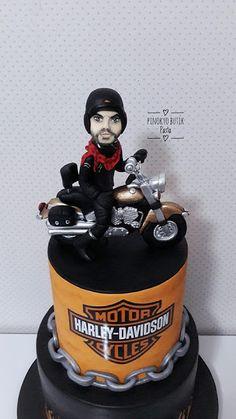 Pinokyo Butik Pasta ve Kurabiye - İzmit: Harley Davidson Pastası