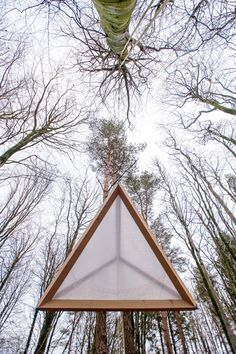 Hooke Park Tetrahedron by AA Design & Make
