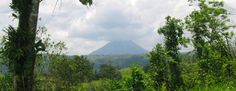 Arenal and rainforests in Costa Rica