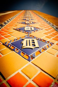 DETROIT...Comerica Park, the beautiful Pewabic Pottery tiles, made in Detroit.