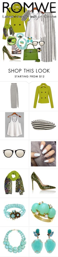 """PAINT IT BLACK !  white top"" by kuropirate ❤ liked on Polyvore featuring Balenciaga, Proenza Schouler, Gucci, Karen Walker, Hermès, Gianvito Rossi, Miriam Haskell, Natasha, Federica Rettore and Funko"