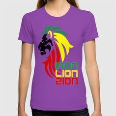 Reggae Rasta, Rastafari Lion T-shirt #rastafarian #lion #zion #tee #jamaica