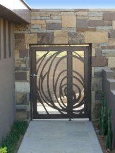 Puertas en acero, plasma cut, contacto@ironpig.cl