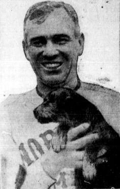 Nearly two months after Laddie Boy went to the White House, one of his lesser-known brothers was presented to Player-Manager Tris Speaker of the defending World Series Champion Cleveland Indians on opening day of the 1921 season. Speaker became a fan of the breed and later bought Airedales from another Ohio breeder, Walter Lingo. Lingo, to promote his breeding business–Oorang Kennel Company–hired another one of his customers, Jim Thorpe, and together they organized the Oorang Indians…