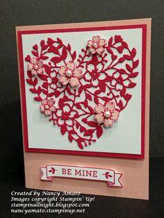 Stampin' All Night: Be My Valentine