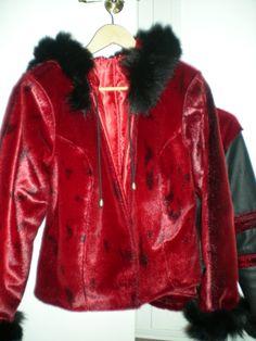 Atter en jakke i sælskind
